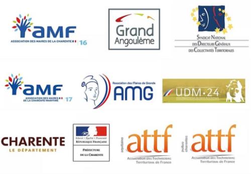 partenaires salon des Maires, des collectivités territoriales et de l'action publique à Angoulême