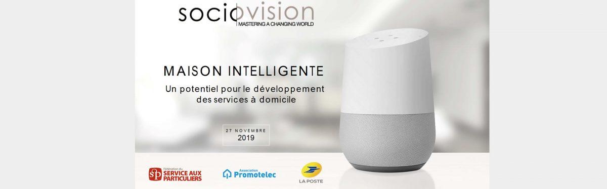 Etude Promotelec - maison intelligente - 2019