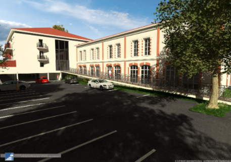 zoom sur la réhabilitation d'une école à Montbrison-2