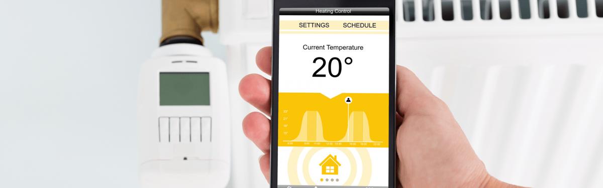 Le thermostat programmable connecté